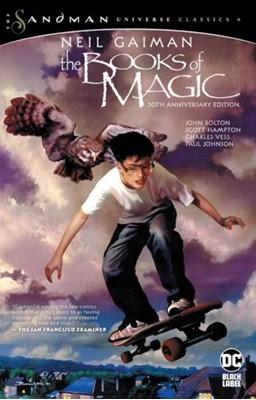 The Books of Magic 30th Anniversary Edition Neil Gaiman 9781779502315