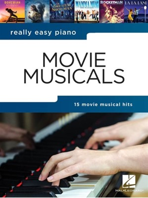 REALLY EASY PIANO MOVIE MUSICALS  9781540066688