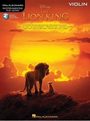 LION KING VIOLIN  9781540065742