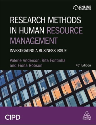 Research Methods in Human Resource Management Dr Rita Fontinha, Dr Fiona Robson, Valerie Anderson 9780749483876