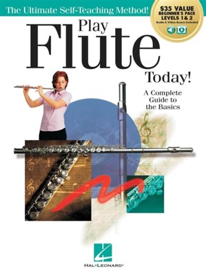 PLAY FLUTE TODAY BEGINNERS PACK  9781540052407