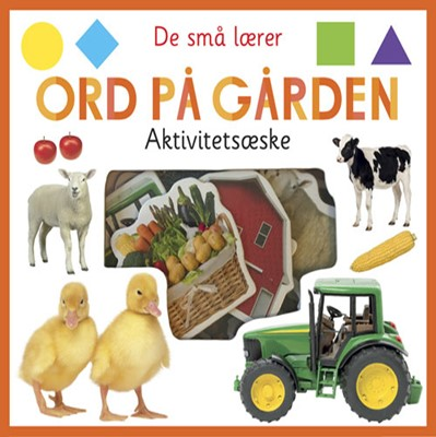 De små lærer - Ord på gården - aktivitetsæske  9788741510750