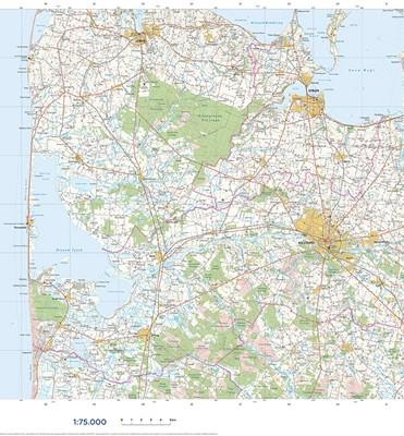 Trap Danmark: Kort over Holstebro Kommune Trap Danmark 9788771811933