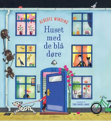 Huset med de blå døre Tove krebs Lange, Alberte Winding 9788702293784