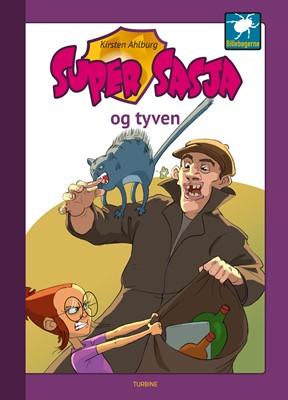 Super Sasja og tyven Kirsten Ahlburg 9788740662986
