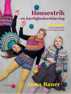 Hønsestrik Anna Bauer 9788740660616