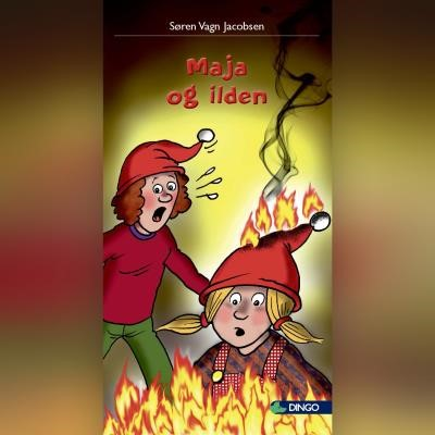 Maja og ilden Søren Vagn Jacobsen 9788762519879