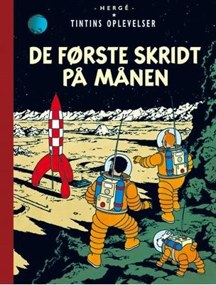 Tintins Oplevelser: De første skridt på Månen Hergé 9788770851602