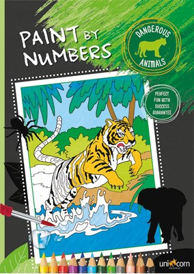 Paint by Numbers - DANGEROUS ANIMALS  5713516000277