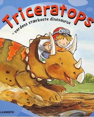 Triceratops Anna Obiols 9788772247908
