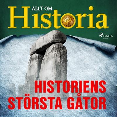 Historiens största gåtor Allt Om Historia 9788726382556