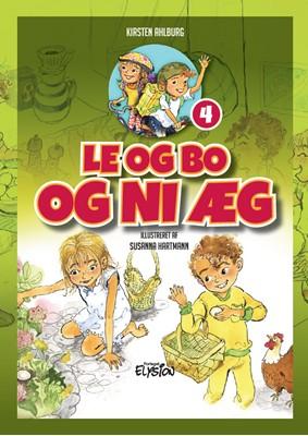 Le og Bo og ni æg Kirsten Ahlburg 9788772147314