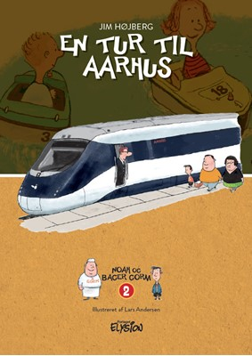 En tur til Aarhus Jim Højberg 9788772147598
