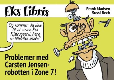 Problemer med Carsten Jensen-robotten i Zone 7! Frank Madsen 9788793608986