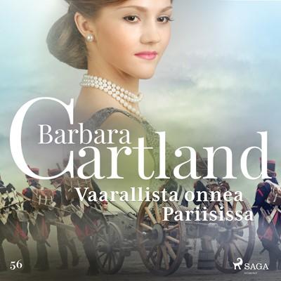 Vaarallista onnea Pariisissa Barbara Cartland 9788726490701