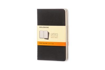 Moleskine Ruled Cahier - Black Cover (3 Set) Moleskine 9788883704895