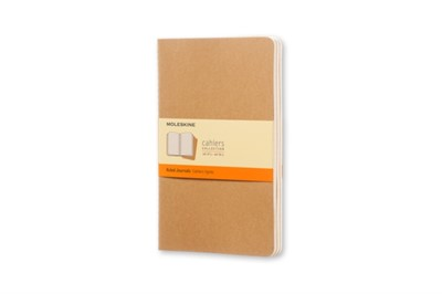Moleskine Ruled Cahier L - Kraft Cover (3 Set) Moleskine 9788883704987