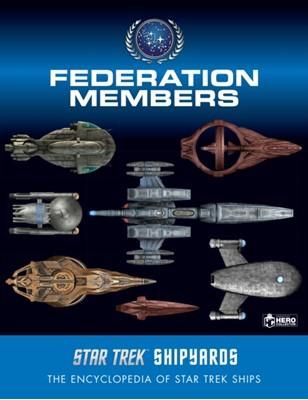 Star Trek Shipyards: Federation Members Marcus Riley, Ben Robinson 9781858755762