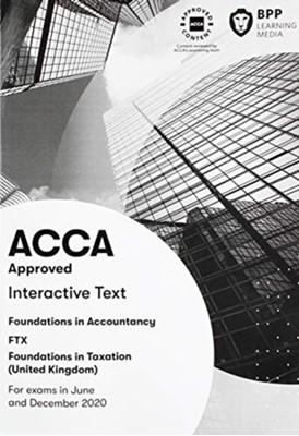 FIA Foundations in Taxation FTX FA2019 BPP Learning Media 9781509728671