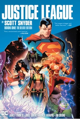 Justice League by Scott Snyder Book One Deluxe Edition Scott Snyder, Jim Cheung 9781401295219