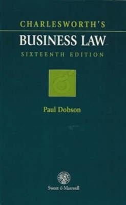 Charlesworth's Business Law J. Charlesworth 9780421604001