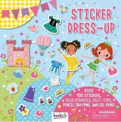Sticker Dress-up Laura Jackson 9781787720169