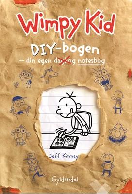 Wimpy Kid - DIY-bogen Jeff Kinney 9788702297621