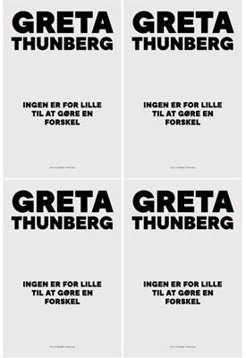 Ingen er for lille til at gøre en forskel Greta Thunberg 9788740064735