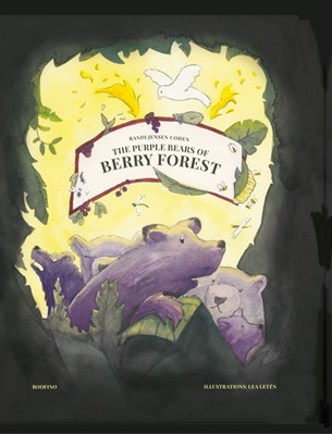 The purple bears of berry forest Randi Jensen Cohen 9788797150917