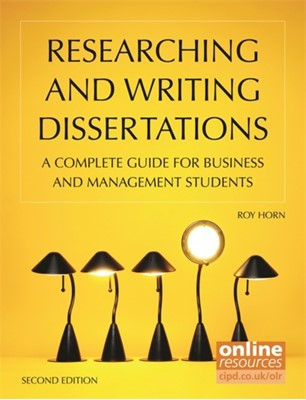 Researching and Writing Dissertations Roy Horn 9781843983026