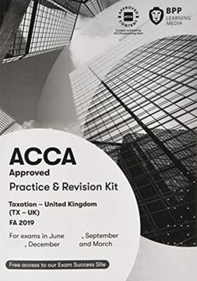 ACCA Taxation FA2019 BPP Learning Media 9781509728169