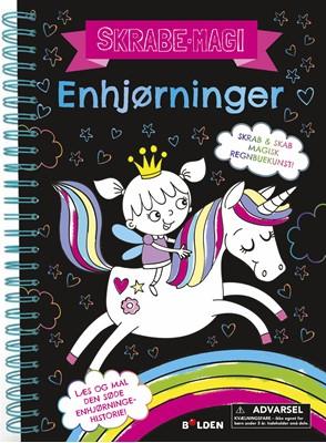 Skrabe-magi: Enhjørninger  9788772053684