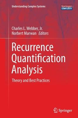 Recurrence Quantification Analysis  9783319356013
