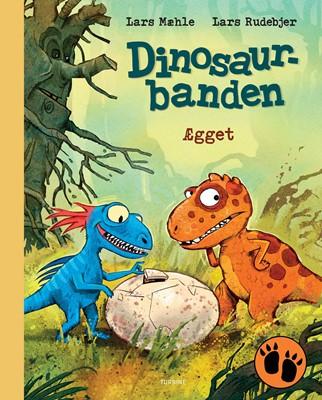Dinosaurbanden – Ægget Lars Mæhle 9788740662177