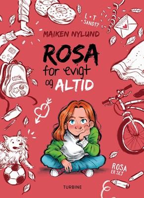 Rosa for evigt og altid Maiken Nylund 9788740661248