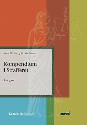 Kompendium i strafferet Jesper Münther 9788771730890
