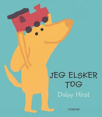Jeg elsker tog Daisy Hirst 9788740662399