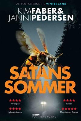 Satans sommer Kim Faber, Janni Pedersen 9788740062380