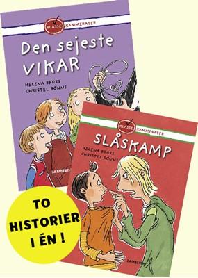 Den sejeste vikar og Slåskamp Helena Bross 9788772247519