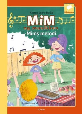 Mim og musikken - Mims melodi Kirsten Sonne Harrild 9788740656381