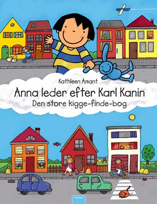 Anna leder efter Karl Kanin Kathleen Amant 9788740661125