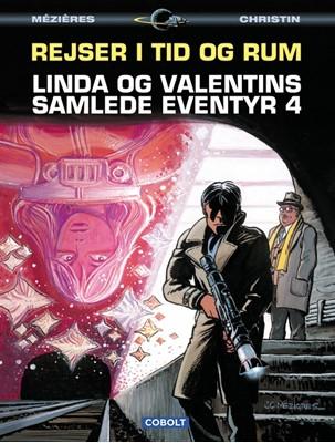 Linda og Valentins samlede eventyr 4: Rejser i tid og rum Jean-Claude Mézières, Pierre Christin 9788770854597