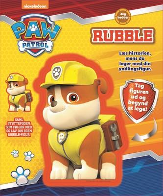 Nickelodeon Paw Patrol Rubble - Figur og historie  9788771316209