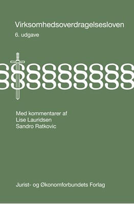 Virksomhedsoverdragelsesloven Lise Lauridsen, Sandro Ratkovic 9788757438062
