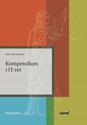 Kompendium i IT-ret Sahar Nami Samavati 9788771730722