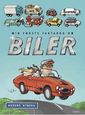 Min første faktabog om biler Anders Nyberg 9788740661682