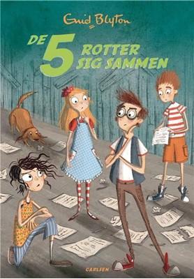 De 5 (21) - De 5 rotter sig sammen Enid Blyton 9788711982396