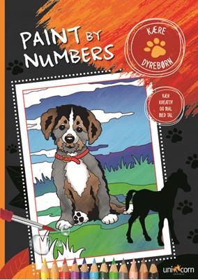 Paint by Numbers - Kære Dyrebørn  5713516000161