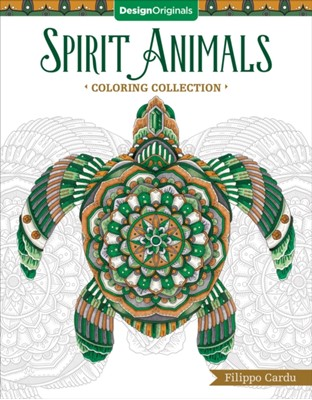 Spirit Animals (Filippo Cardu Coloring Collection) Filippo Cardu 9781497202153
