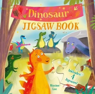 Dinosaur Jigsaw Book Lisa Regan 9781789507997